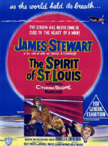 The Spirit of St. Louis 1957 DVD - James Stewart / Murray Hamilton